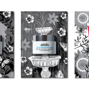 aeolis skin care post cards