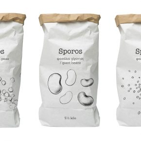 Sporos Packaging design