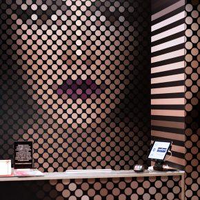 Radiant Store - Lipstick installation