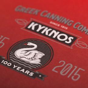 Kyknos 100 Year Anniversary Design