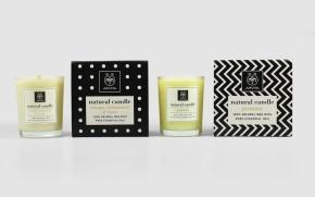 Apivita scented candles