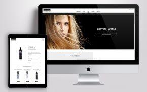 Lorvenn Hair Professionals Website