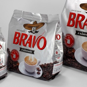 Bravo Coffee Packaging