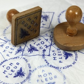 Amonfleur Logo Stamp