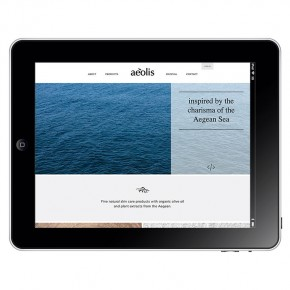 Aeolis web design