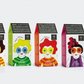 Apivita's Kids Packaging