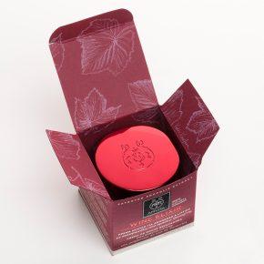 Apivita' wine elixir face care packaging