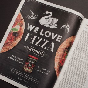 Kyknos Pizza Ad