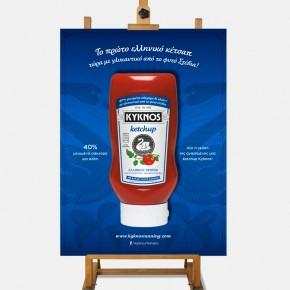 Kyknos Ketchup Poster