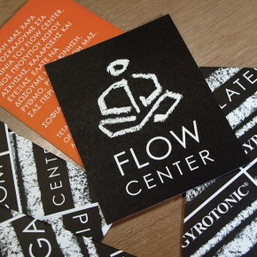 Flow Center promo card