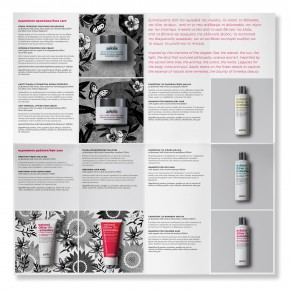 aeolis skin care brochure