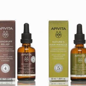 Apivita hair oils